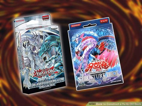 How To Construct A Yu Gi Oh! Deck 11 Steps (with Pictures