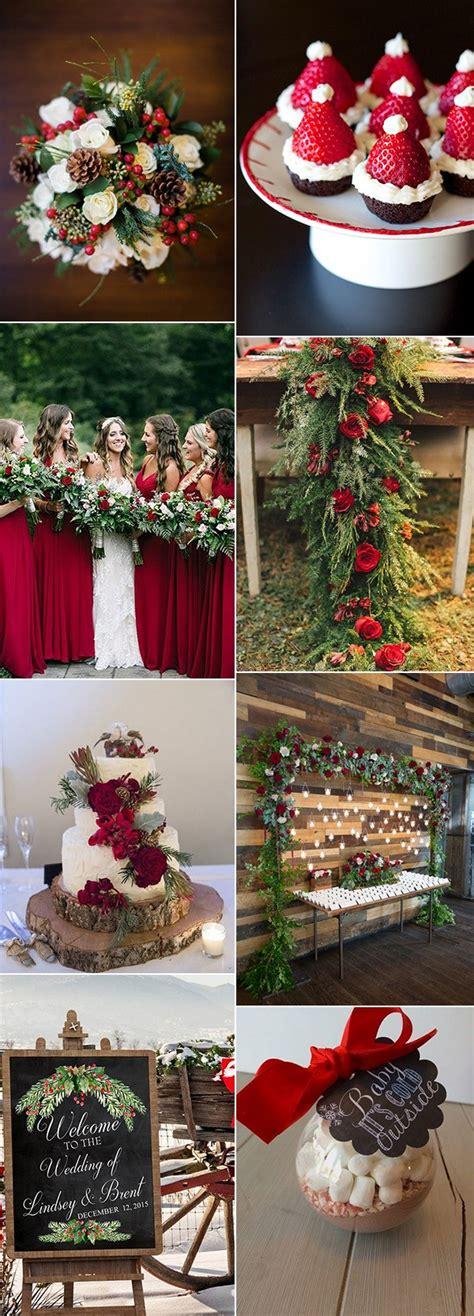 stunning christmas themed winter wedding ideas page emmalovesweddings