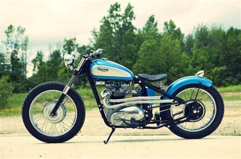 Vintage Triumph Motorcycles