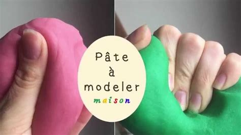 comment faire de la p 226 te 224 modeler maison comme le play doh du magasin