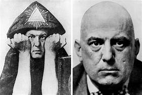Ruined home of notorious Satanist Aleister Crowley is torched by arsonists just three months after it was put up for sale for £500,000…