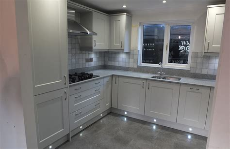 hutton light grey kitchen real kitchens design