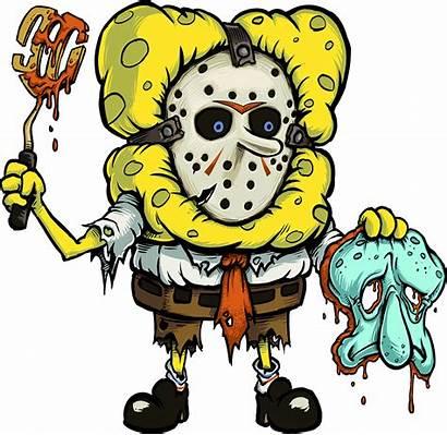Spongebob Horror Bob Oc Spong Mashup Fan