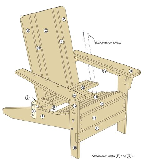 folding adirondack chair plans woodwork city