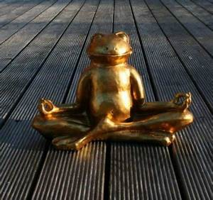 Feng Shui Frosch : goldener gl cks frosch im lotussitz yoga feng shui test ~ Sanjose-hotels-ca.com Haus und Dekorationen