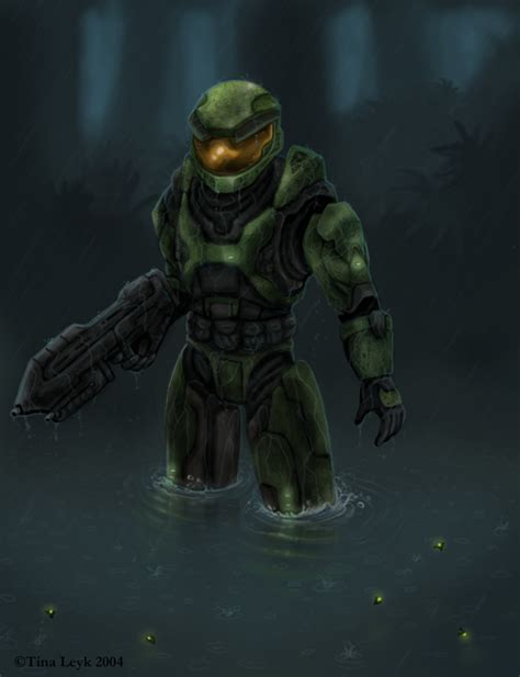 Halo Fanart Master Chief By Jaxxblackfox On Deviantart