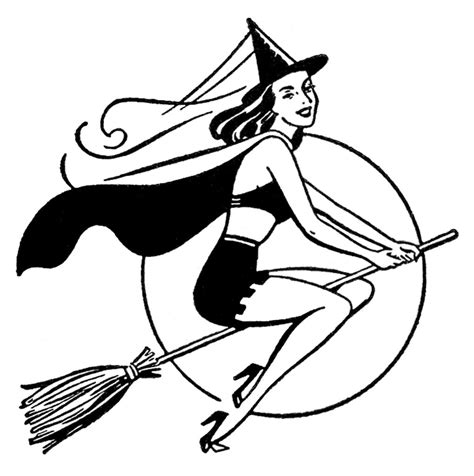 pretty witch clipart  graphics fairy