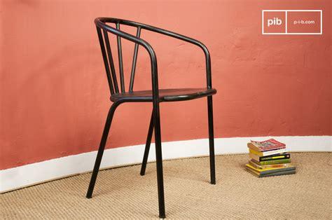 chaise métallique chaise métallique brienon un siège en métal typé pib