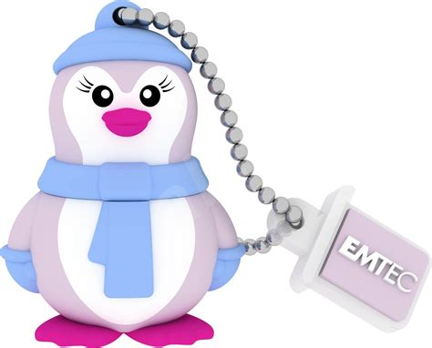 emtec animals miss penguin 8gb flash disk alza sk