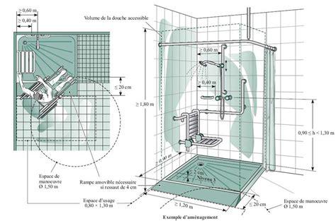 norme pmr salle de bain norme handicape salle de bain 4 dimension dune handicap233 evtod