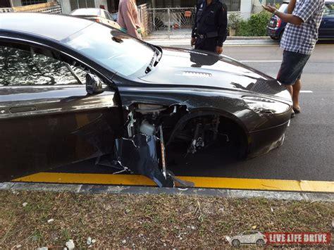 Martin Crash by Car Crash Employee Wrecks 2013 Aston Martin Rapide S In