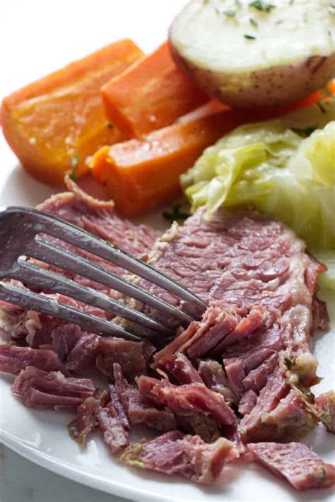 Patrick's day and i loved it! Instant Pot Corned Beef And Cabbage - Savor the Best