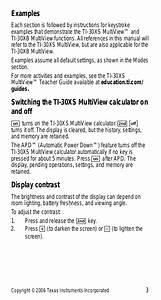 Pdf Manual For Ti Calculator Ti