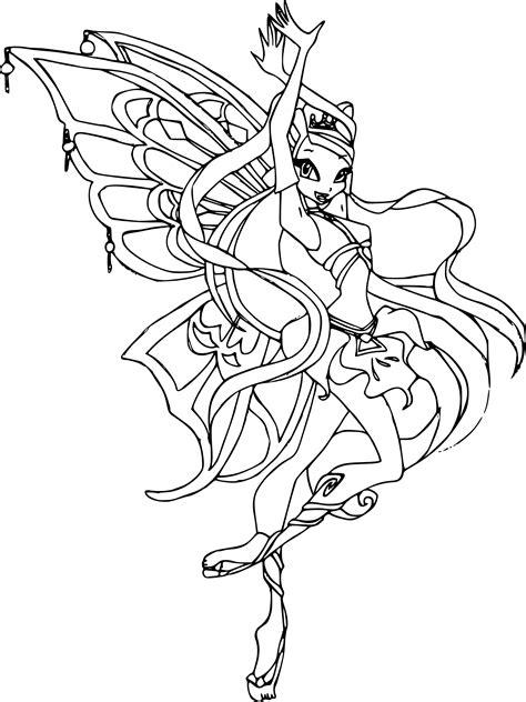 jeux info fille cuisine coloriage stella enchantix winx à imprimer
