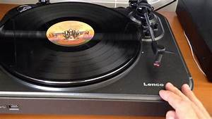 Lenco L-83 Turntable Refuses To Play Records