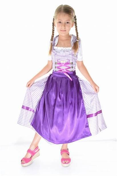 Dirndl Child Purple Lederhosen4u Pcs Dsc