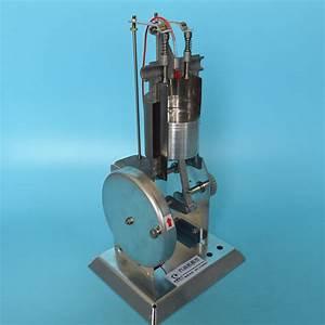 J31008 Single Cylinder Internal Combustion Engine 4 Stroke Gasoline Metal Engine Model Physics