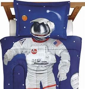 Astronaut Full Comforter Set Space Suit Bedding ...