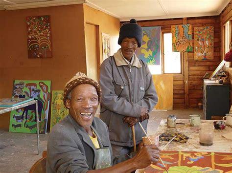 Folk art exhibit to benefit Botswana's San Bushman | The ...