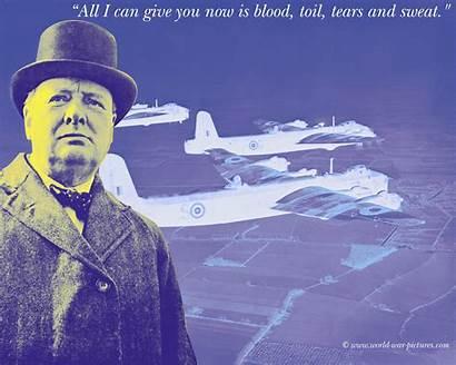 Churchill Winston War Desktop Ww2 Quotes Wwii