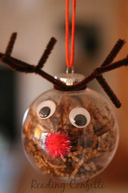 easy christmas ornaments to make cute and easy reindeer ornaments for kids to make this christmas christmas pinterest