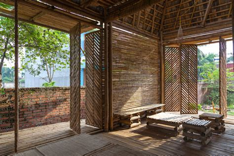flood resistant blooming bamboo home by H&P architects