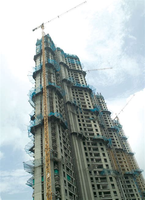 equipment makers bracing   high rise construction