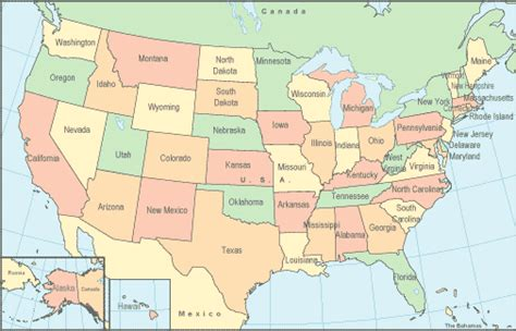 united states map map pictures