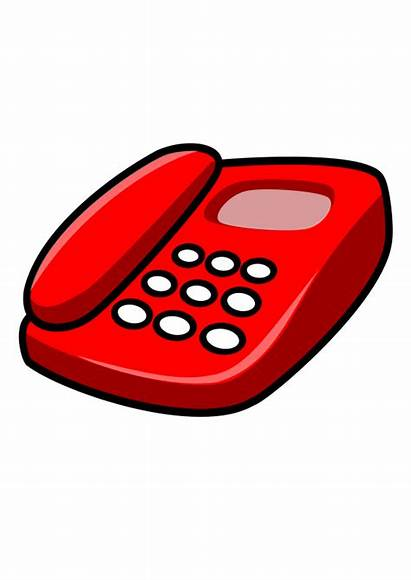 Telephone Clip Clipart Illustration Phone Cliparts Vector