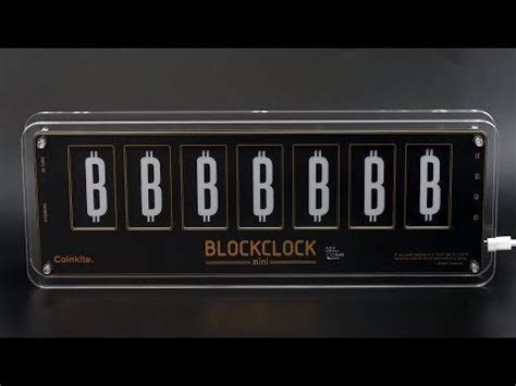 They individually run their own bitcoin core full nodes, and each of. Unboxing The Blockclock Mini - Bitcoin Hardware - Made by Coinkite - Bitcoin News
