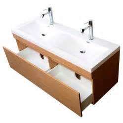 12 Inch Vanity by 57 Quot Double Sink Modern Bathroom Vanity Wavy Sinks Light