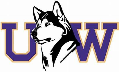 Huskies Washington Uw Husky Logos Secondary Ncaa