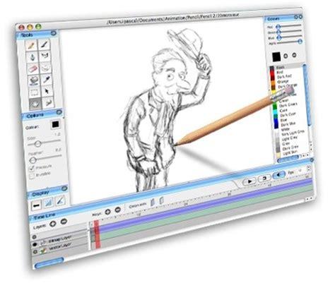 sketch design software pencil applicazione gratuita per disegno e animazione