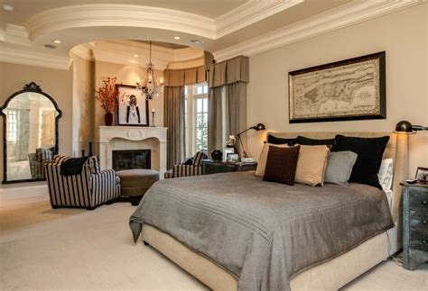 breathtaking collection  dazzling mansion master bedroom