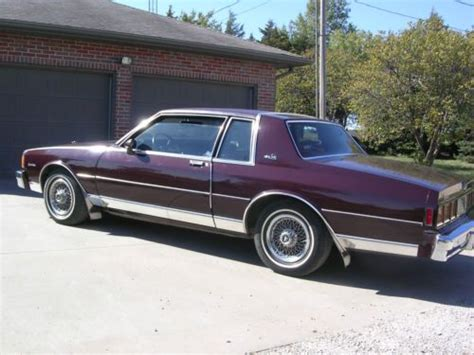2 door caprice for sell used 1980 chevrolet caprice classic landau coupe 2