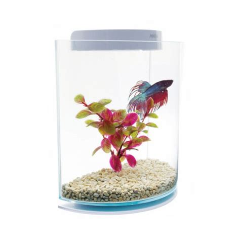 marina betta kit half moon aquarium pour poisson combattant