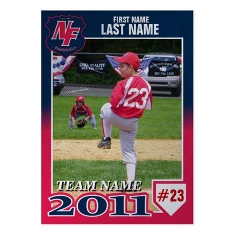 Baseball Card Template Template Business Nfb 2011 Baseball Card Large Business Cards Pack Of 100