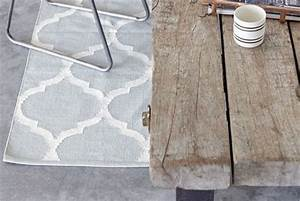 tapis en coton gris clair blanc With tapis gris et blanc