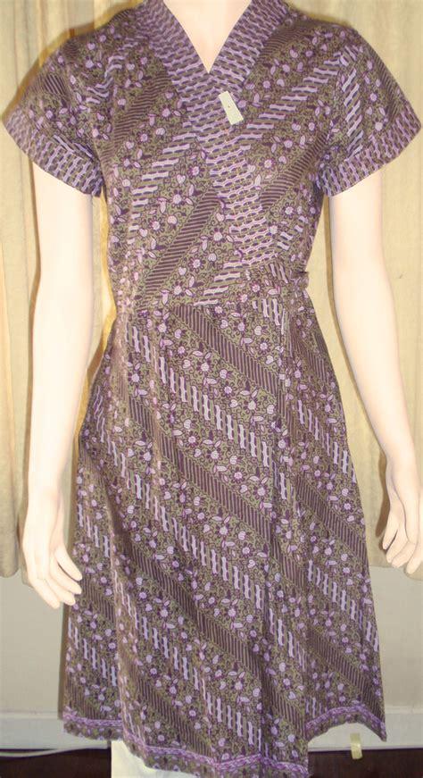 cute knitting baju batik terbaru