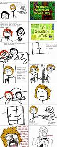 Le girlfriend coming over mom don't know / me gusta ...