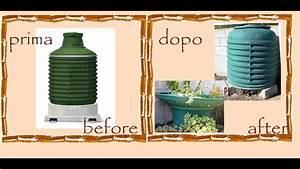 Riciclo Creativo Serbatoio Gas  Compostiera   Vaso Piante Grasse -tutorial-