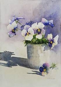 Aquarell Malen Blumen : stiefm tterchen malen pinterest stiefm tterchen ~ Articles-book.com Haus und Dekorationen