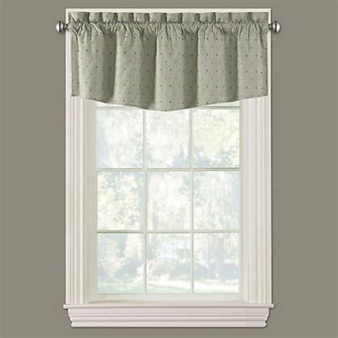 collins modern ascot window valance bed bath beyond