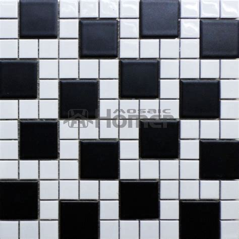 black and white ceramic tile kitchen floor aliexpress buy shipping free simple design black 9763