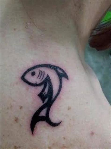 simple fish tattoos images pictures tattoos hunter