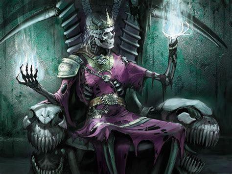 wallpapers fantasy wallpaper skeleton king