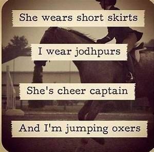 Horse Quotes, I wish my horse still was a jumper... He was ...