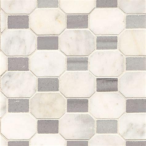 alys edwards honed elongated octagon  dot tile