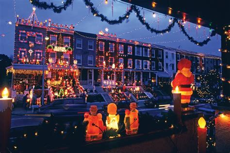 towns  dazzling holiday decorations hgtv