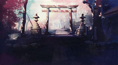 pin  jose  art anime scenery anime artwork